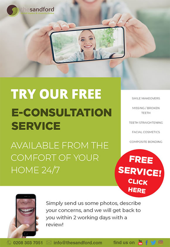 Free eConsultation service available at The Sandford