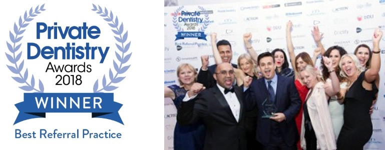 The Sandford Private Dentistry Awards Winner