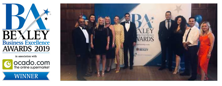 The Sandford Bexley Business Awards Winner
